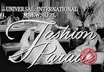 Image of fashion show Rome Italy, 1957, second 5 stock footage video 65675070385