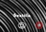 Image of America's first jet transport Seattle Washington USA, 1957, second 5 stock footage video 65675070388