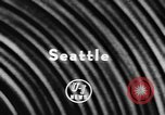 Image of America's first jet transport Seattle Washington USA, 1957, second 6 stock footage video 65675070388