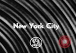 Image of toy fair New York City USA, 1957, second 2 stock footage video 65675070391