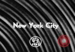 Image of toy fair New York City USA, 1957, second 3 stock footage video 65675070391