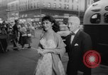 """Image of invitational preview of film """"Man of a Thousand Faces"""" New York United States USA, 1957, second 12 stock footage video 65675070397"""