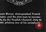 Image of Louis Blériot France, 1909, second 8 stock footage video 65675070412