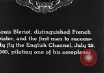 Image of Louis Blériot France, 1909, second 9 stock footage video 65675070412