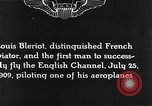 Image of Louis Blériot France, 1909, second 10 stock footage video 65675070412