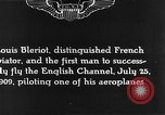 Image of Louis Blériot France, 1909, second 12 stock footage video 65675070412