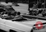 Image of amphibious Amphicar automobiles Germany, 1962, second 12 stock footage video 65675070436