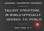 Image of Empire State Building on opening day New York United States USA, 1931, second 3 stock footage video 65675070440