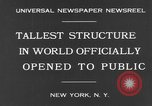 Image of Empire State Building on opening day New York United States USA, 1931, second 4 stock footage video 65675070440