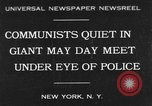 Image of May Day Parade New York United States USA, 1931, second 1 stock footage video 65675070443
