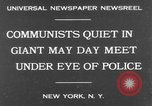 Image of May Day Parade New York United States USA, 1931, second 2 stock footage video 65675070443