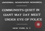 Image of May Day Parade New York United States USA, 1931, second 3 stock footage video 65675070443
