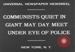Image of May Day Parade New York United States USA, 1931, second 4 stock footage video 65675070443