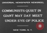 Image of May Day Parade New York United States USA, 1931, second 5 stock footage video 65675070443