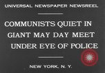 Image of May Day Parade New York United States USA, 1931, second 6 stock footage video 65675070443