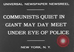 Image of May Day Parade New York United States USA, 1931, second 7 stock footage video 65675070443