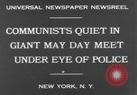 Image of May Day Parade New York United States USA, 1931, second 8 stock footage video 65675070443