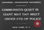 Image of May Day Parade New York United States USA, 1931, second 9 stock footage video 65675070443