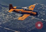 Image of North American T-28 training planes United States USA, 1963, second 2 stock footage video 65675070447