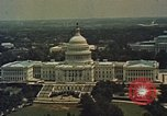 Image of Capitol and memorial buildings in Washington DC United States USA, 1963, second 3 stock footage video 65675070451