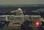 Image of Capitol and memorial buildings in Washington DC United States USA, 1963, second 5 stock footage video 65675070451