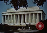 Image of Capitol and memorial buildings in Washington DC United States USA, 1963, second 6 stock footage video 65675070451