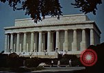 Image of Capitol and memorial buildings in Washington DC United States USA, 1963, second 7 stock footage video 65675070451