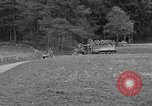 Image of US troops move through villages of Unter-Diessen and Oberdiessen, Bava Unter-Diessen Germany, 1945, second 6 stock footage video 65675070469