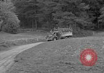 Image of US troops move through villages of Unter-Diessen and Oberdiessen, Bava Unter-Diessen Germany, 1945, second 9 stock footage video 65675070469