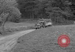 Image of US troops move through villages of Unter-Diessen and Oberdiessen, Bava Unter-Diessen Germany, 1945, second 10 stock footage video 65675070469