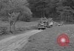 Image of US troops move through villages of Unter-Diessen and Oberdiessen, Bava Unter-Diessen Germany, 1945, second 12 stock footage video 65675070469