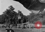 Image of observation balloon Alsace France, 1918, second 1 stock footage video 65675070479