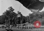 Image of observation balloon Alsace France, 1918, second 2 stock footage video 65675070479