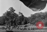 Image of observation balloon Alsace France, 1918, second 3 stock footage video 65675070479