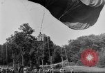 Image of observation balloon Alsace France, 1918, second 4 stock footage video 65675070479