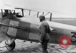 Image of French Spad VII C 1 aircraft Grandvilliers France, 1918, second 1 stock footage video 65675070480