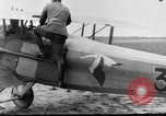 Image of French Spad VII C 1 aircraft Grandvilliers France, 1918, second 4 stock footage video 65675070480