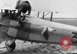 Image of French Spad VII C 1 aircraft Grandvilliers France, 1918, second 5 stock footage video 65675070480