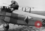 Image of French Spad VII C 1 aircraft Grandvilliers France, 1918, second 6 stock footage video 65675070480