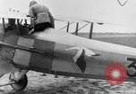 Image of French Spad VII C 1 aircraft Grandvilliers France, 1918, second 7 stock footage video 65675070480