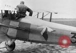 Image of French Spad VII C 1 aircraft Grandvilliers France, 1918, second 8 stock footage video 65675070480