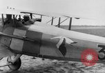 Image of French Spad VII C 1 aircraft Grandvilliers France, 1918, second 9 stock footage video 65675070480