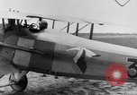Image of French Spad VII C 1 aircraft Grandvilliers France, 1918, second 10 stock footage video 65675070480