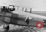 Image of French Spad VII C 1 aircraft Grandvilliers France, 1918, second 11 stock footage video 65675070480