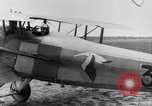 Image of French Spad VII C 1 aircraft Grandvilliers France, 1918, second 12 stock footage video 65675070480