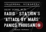 Image of radio play New York United States USA, 1938, second 6 stock footage video 65675070522