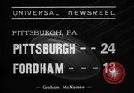 Image of College football Pittsburgh versus Fordham Pittsburgh Pennsylvania USA, 1938, second 2 stock footage video 65675070527