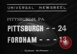 Image of College football Pittsburgh versus Fordham Pittsburgh Pennsylvania USA, 1938, second 3 stock footage video 65675070527