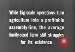 Image of new ways of farming United States USA, 1946, second 1 stock footage video 65675070533