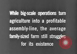 Image of new ways of farming United States USA, 1946, second 8 stock footage video 65675070533